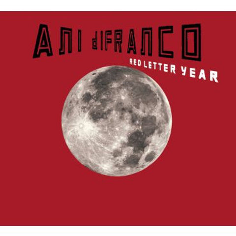 Ani DiFranco-Red Letter Year Vinyl
