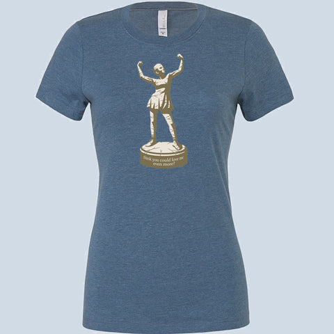 Statue Fitted tee