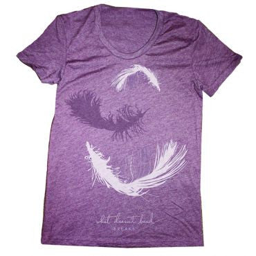 Feather Fitted Tee