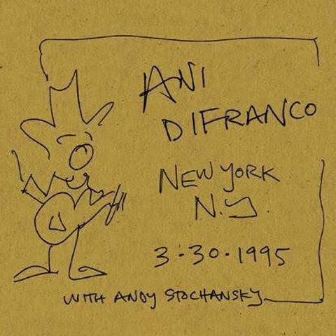 Ani DiFranco New York, NY 3.30.1995