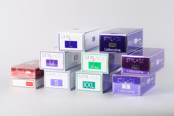 STYLAGE® dermal filler product line - XL Lidocain