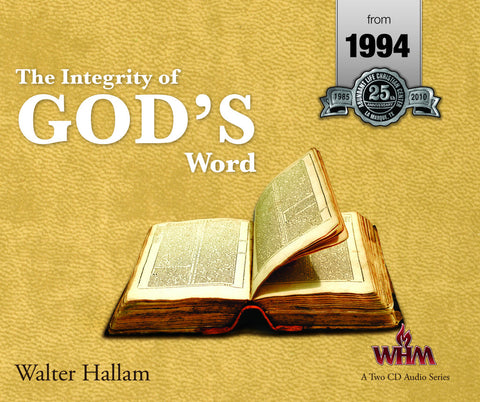 Integrity in God's Word