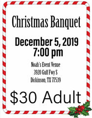 Christmas Banquet Ticket Adult