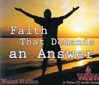 Faith That Demands an Answer