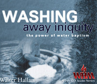 Washing Away Iniquity