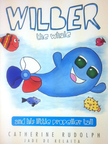 Wilber the Whale and his little propeller tail