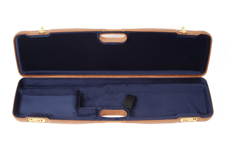 Negrini OU/SxS Luxury Leather Shotgun Case 1605PL/5235 - Sporting Classics Store