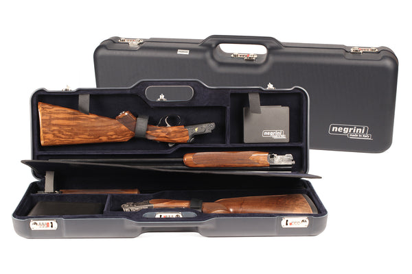 Negrini Two OU/SxS Hunting, Skeet Shotgun Travel Case 1670LR/5436 - Sporting Classics Store