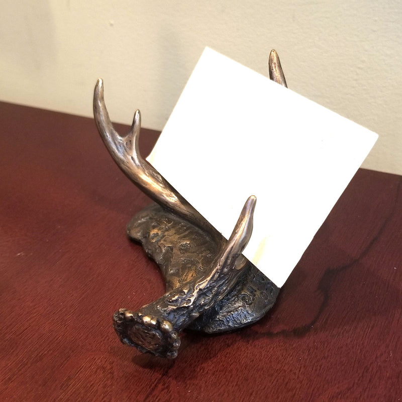 Deer Antler Card Holder - Sporting Classics Store