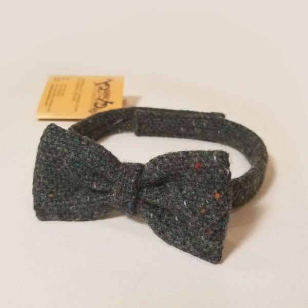 Green Salt & Pepper Bow Tie - Sporting Classics Store