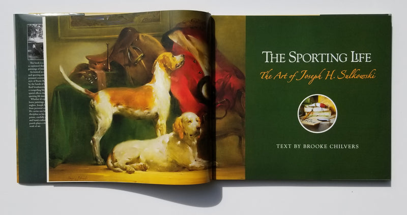 The Sporting Life - Art of Joseph Sulkowski Deluxe Edition- signed by Joseph Sulkowski