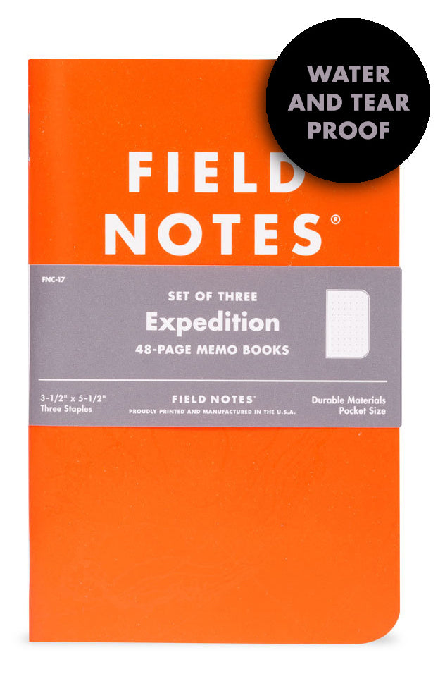 Expedition Memo Book
