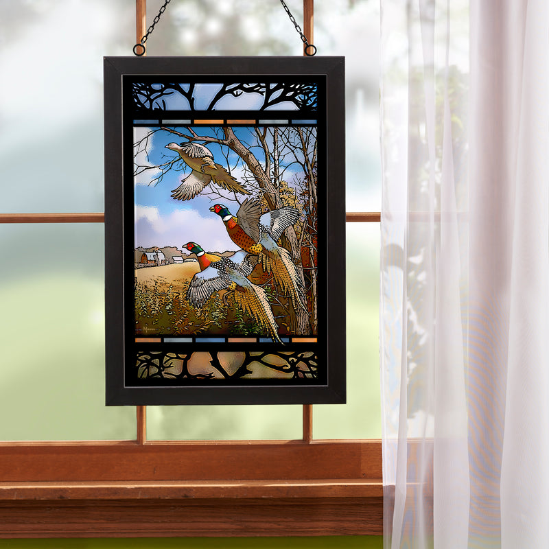 October Memories Stained Glass Art