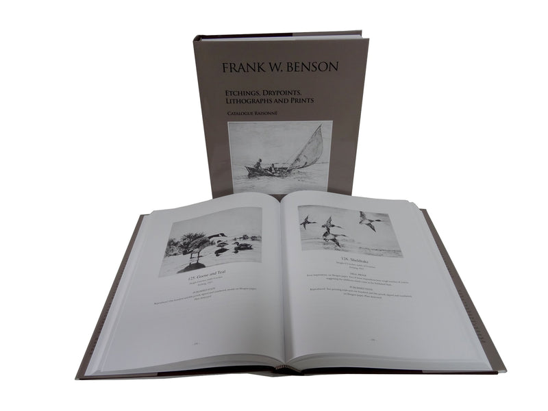 Frank W. Benson: Etchings, Drypoints, Lithographs and Prints