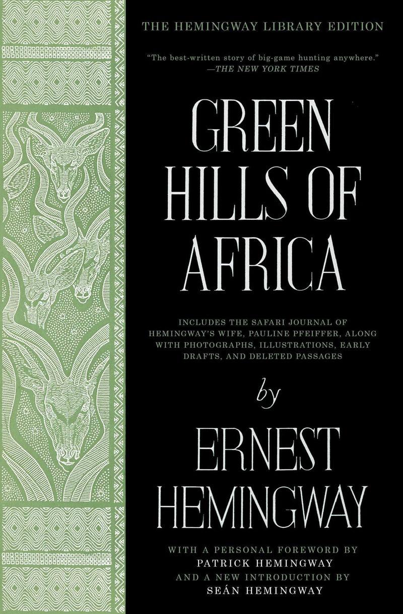 Green Hills of Africa-Softcover - Sporting Classics Store