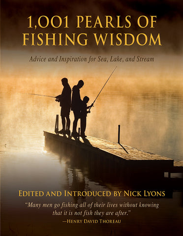 1,001 Pearls of Fishing Wisdom - Sporting Classics Store