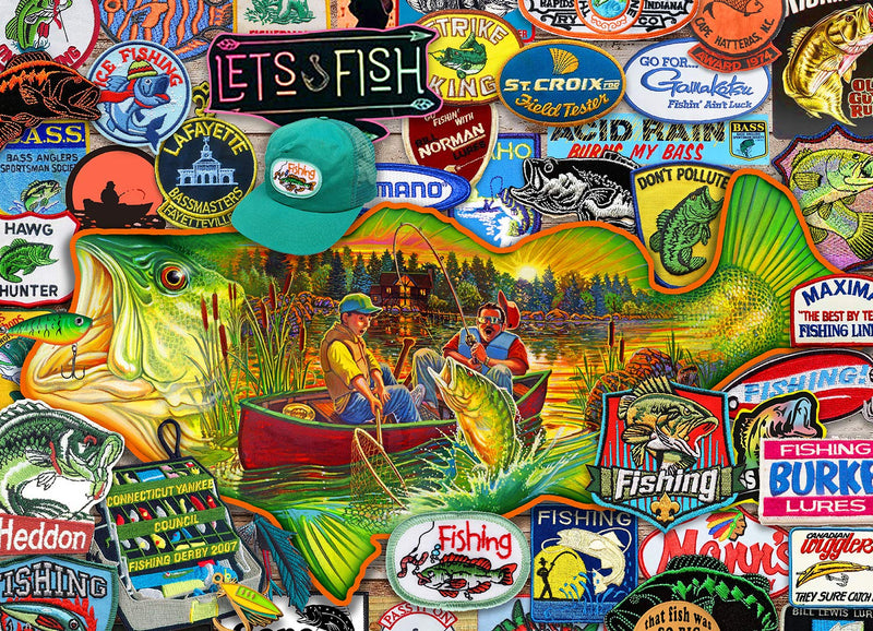 Lets Fish 1000 Piece Jigsaw Puzzle