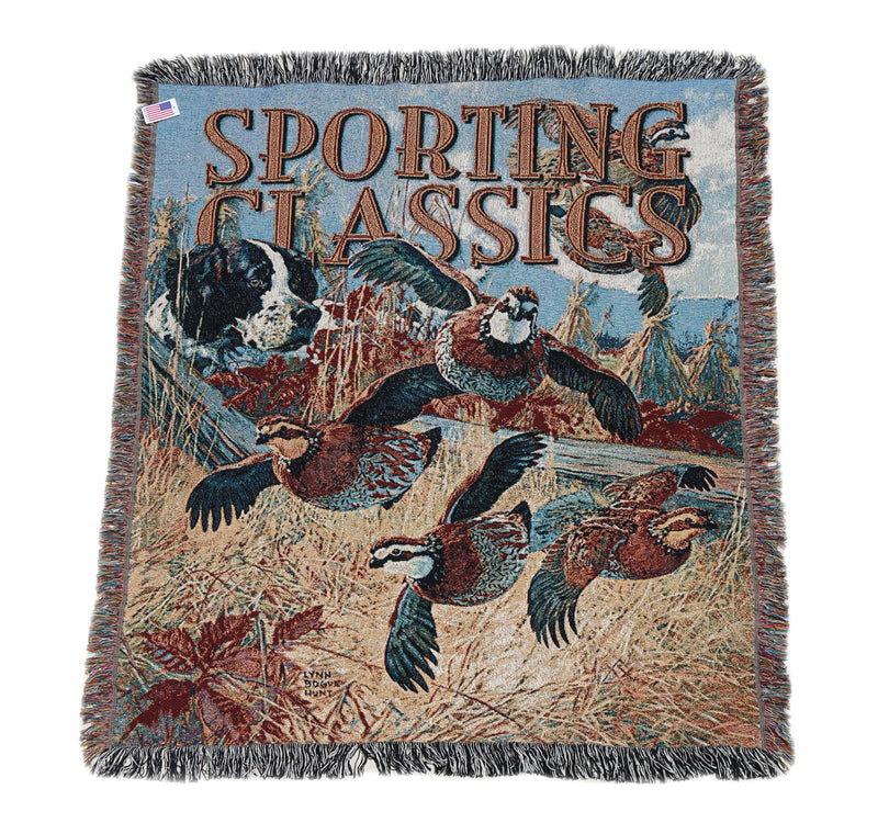 Lynn Bogue Hunt Blanket - Sporting Classics Store