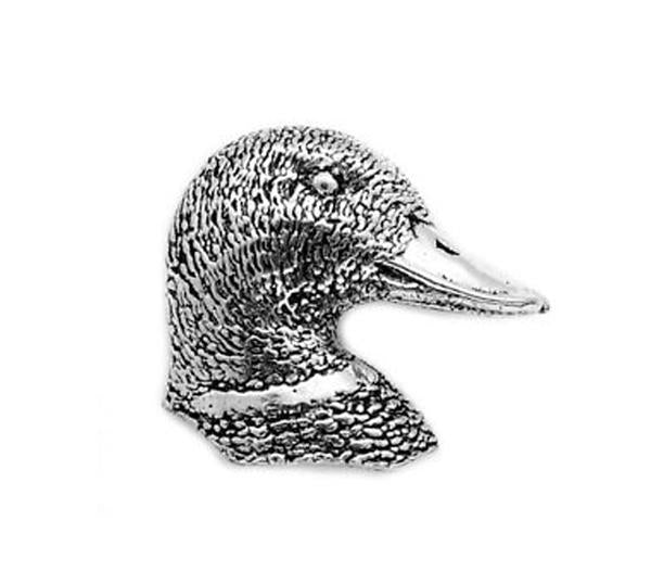 Duck Head Pewter Pin - Sporting Classics Store