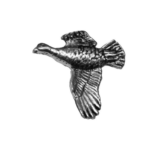 Grouse Pewter Pin - Sporting Classics Store