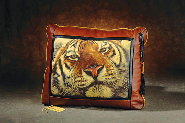 Banovich Designer Leather Pillows - Sporting Classics Store