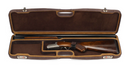 Negrini OU/SxS Superlative Luxury Leather Shotgun Case 1605PPL/5224