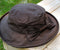 Waxed Cotton Ladies Hat - Brown