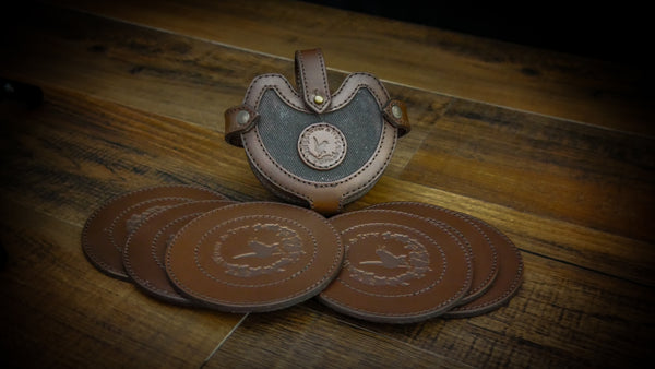 CYA Leather Trivet Set - Sporting Classics Store