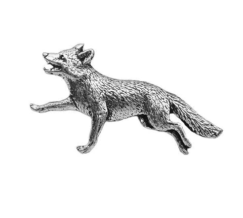 Fox Pewter Pin - Sporting Classics Store