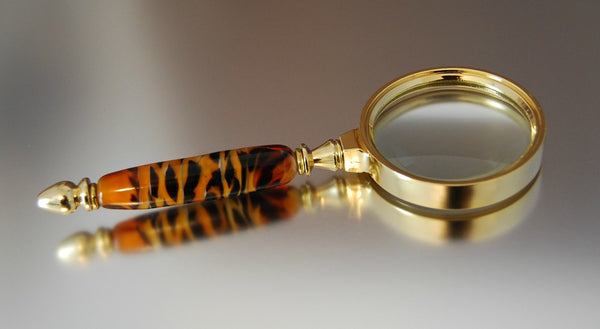 Tiger Magnifying Glass