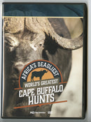 Africa's Deadliest: World's Greatest Cape Buffalo Hunts DVD - Sporting Classics Store