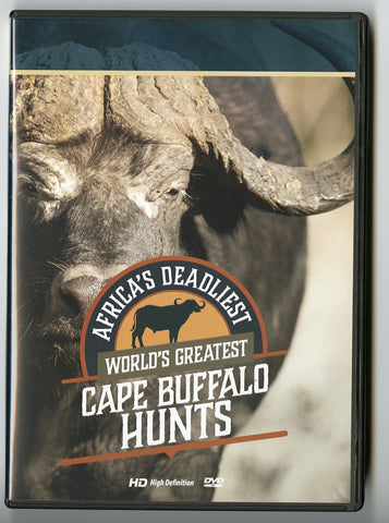 Africa's Deadliest: World's Greatest Cape Buffalo Hunts - Sporting Classics Store