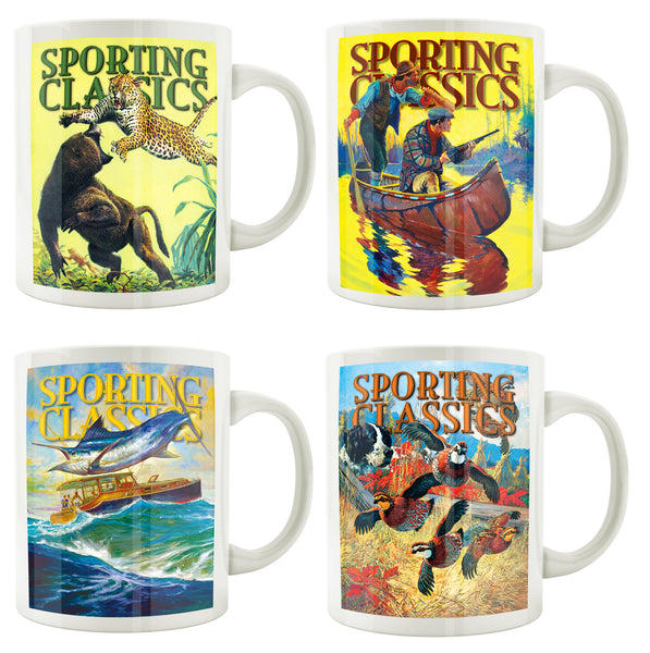 Mugs - Set of 4 - Sporting Classics Store