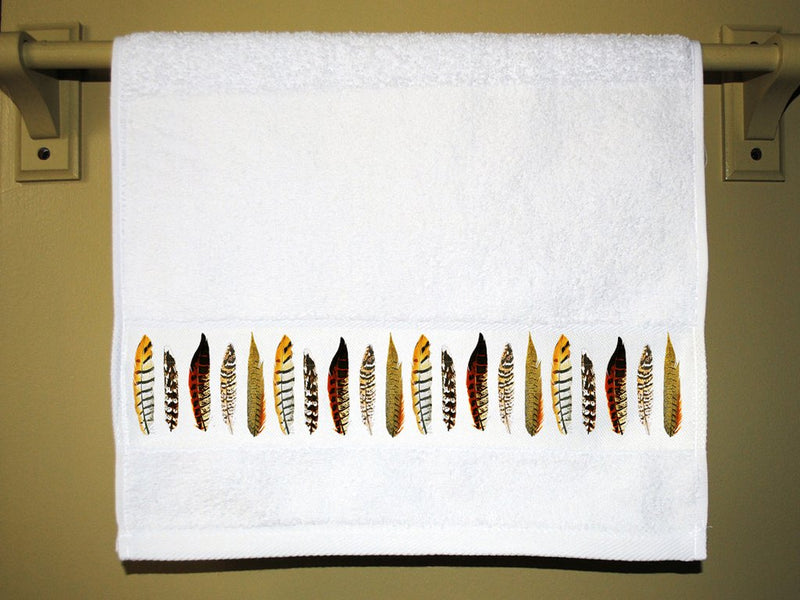 Feathers Bathroom Hand Towel