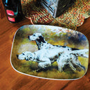 English Setters Food Platter - Sporting Classics Store