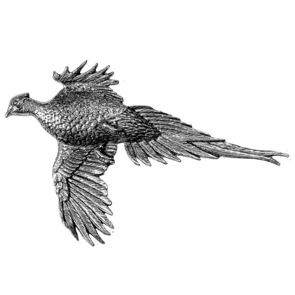 Large Pheasant Pewter Pin - Sporting Classics Store