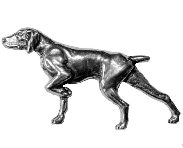 German Shorthair Pointer Pewter Pin - Sporting Classics Store