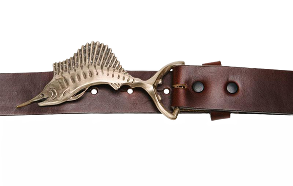 The Sailfish Belt Buckle - Sporting Classics Store