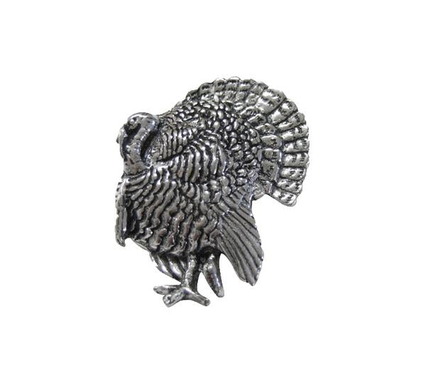Turkey Pewter Pin