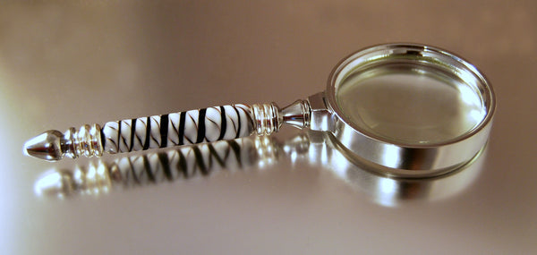 Zebra Magnifying Glass