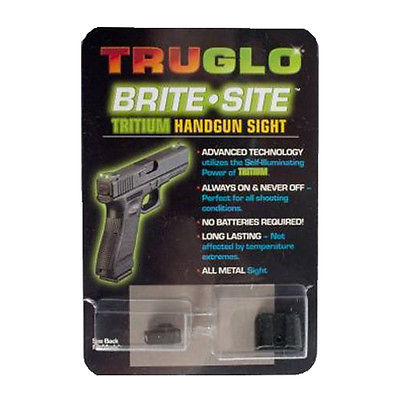 Truglo Brite Site Tritium Handgun Sight Set Glock 42