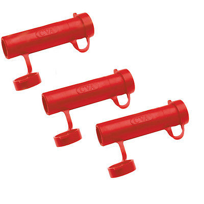 CVA Rapid Loader (Per 3) .54 Caliber, Red