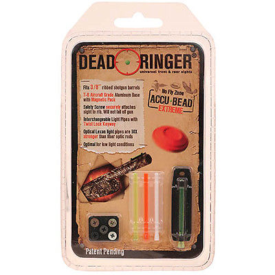 Dead Ringer Universal Shothun Sights 3/8 Accu-Bead Extreme