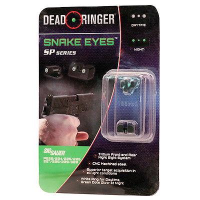 Dead Ringer Replacement Tritium Night Sight Sig Sauer