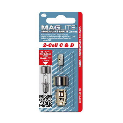 Maglite MS II Incandescent Upgrade 2 Cell Xenon