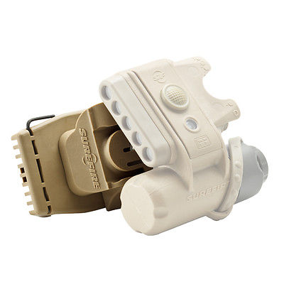 Surefire Helmet Light Ratchet Mount, Tan