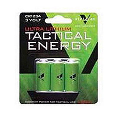 Viridian Green Lasers Viridian CR123a Lithium Battery 3 Pack for X5L/X5L-RS