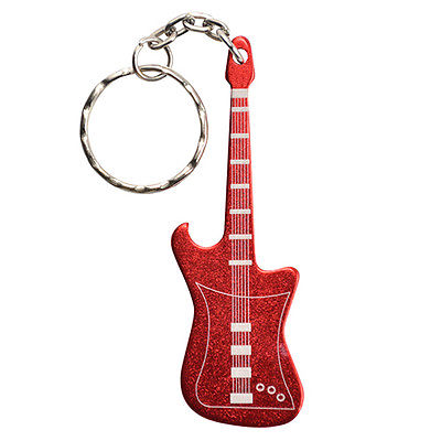 Ultimate Survival Technologies Bottle Opener Guitar, Red