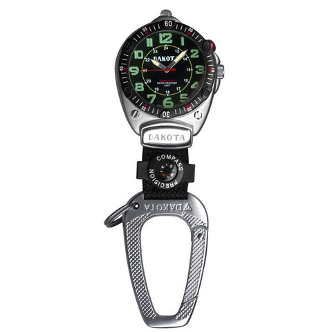 Dakota Big Face Clip Watch