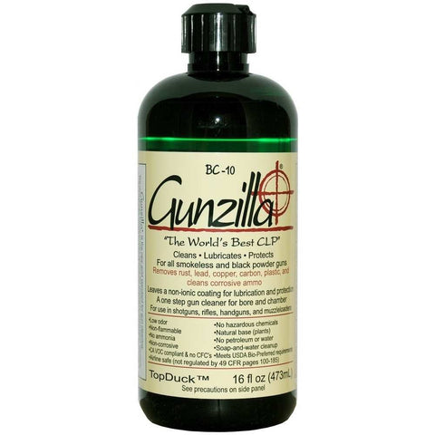 Gunzilla 16oz Bottle CLP